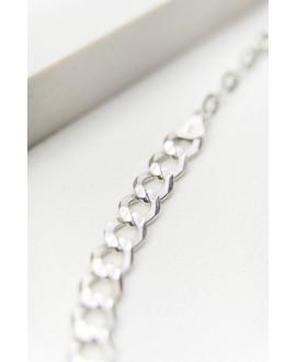 Choker wykonany ze srebra 33 cm